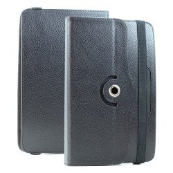 Universal 7 inch 360 Premium Flip Leather Tablet Case (Black)